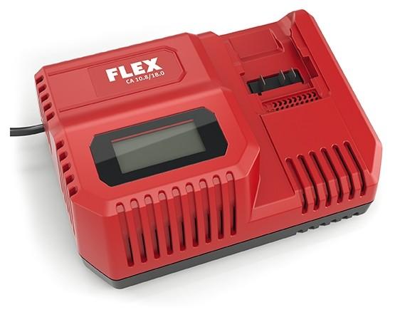 FLEX Akku-Schnellladegerät CA10.8/18.0 230CEE (18V+10,8V)