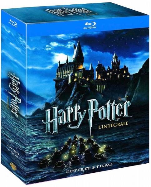 Harry Potter Box Teil 1-7 (8 Blu-ray-Filme) Ton deutsch