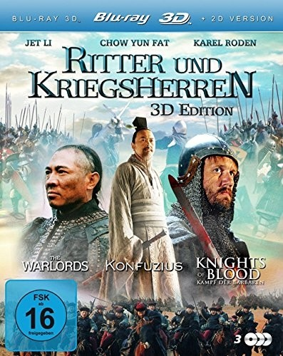 Ritter und Kriegsherren (Konfuzius 3D / Knights of Blood 3D / The Warlords 3D)