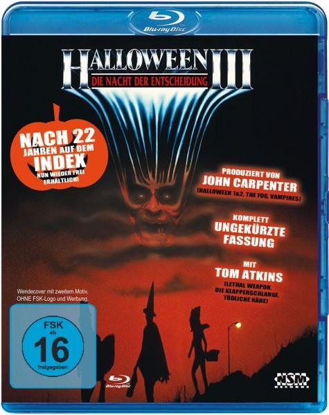 Halloween 3 - Die Nacht der Entscheidung (Uncut) [Blu-ray] NSM Wendecover