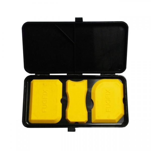 Silikonfugenset 3-teilig *Fugfix* in Kunststoffbox