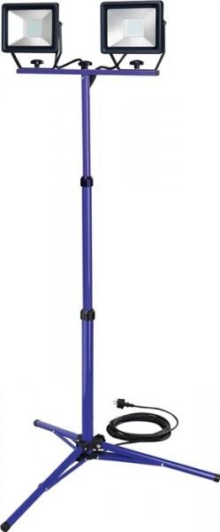 Promat LED-Strahler 2x50W mit Stativ 2x3660 lm 7,5m H07RN-F 3x1 mm²