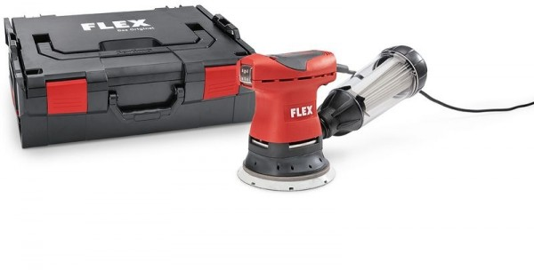 FLEX Handlicher Exzenterschleifer mit Drehzahlreglung im Set 125mm