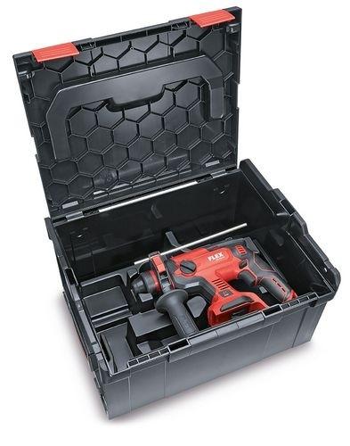 FLEX Akku Kombi-Bohhammer CHE18.0-EC Solo L-Boxx Brushless
