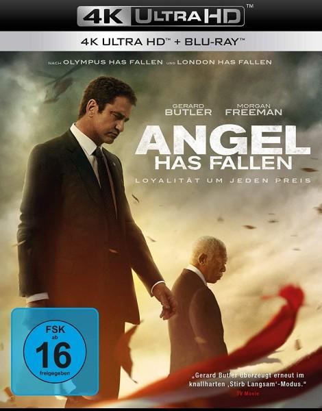 Angel Has Fallen (4K Ultra HD+Blu-ray) 2 Disc´s