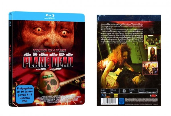 Plane Dead - Flight of the Living Dead [Blu-ray] im Steel-Case