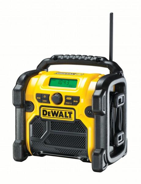 DeWalt DCR020-QW Akku- u. Netz-Radio für 10,8 - 18V