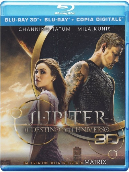 Jupiter Ascending (3D Blu-ray+2D Blu-ray) Deutscher Ton nur bei 2D Disc