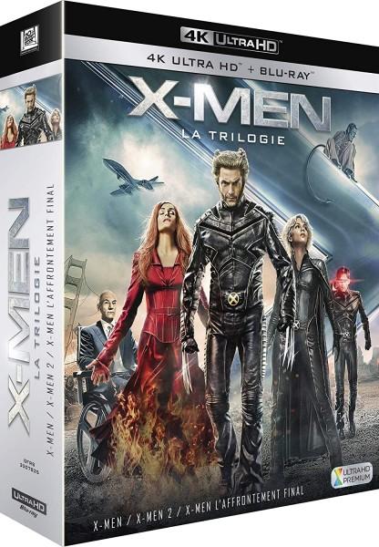 X-Men Trilogie (4K Ultra-HD+Blu-ray) Deutscher Ton bei 4K