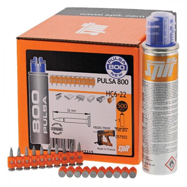 SPIT P800 Nagel HC 6-22 (500) Pulsa 800 Spezialnägel m. Gas