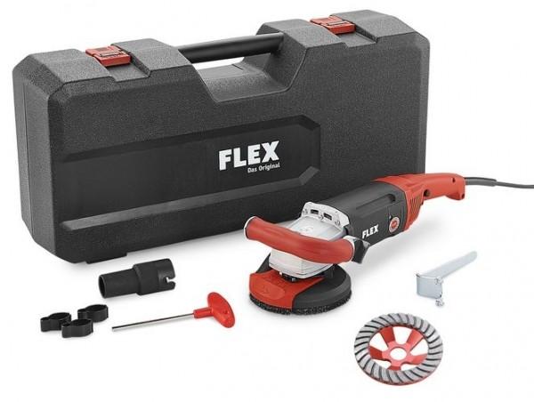 FLEX Kraftvoller 1800 Watt Sanierungsschleifer LD 18-7 125 R Kit Turbo-Jet
