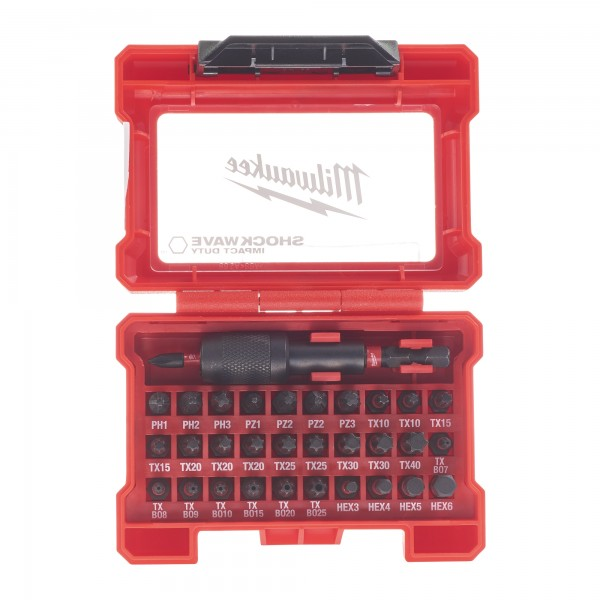 Milwaukee SHOCKWAVE Compact-Set 32-teilig