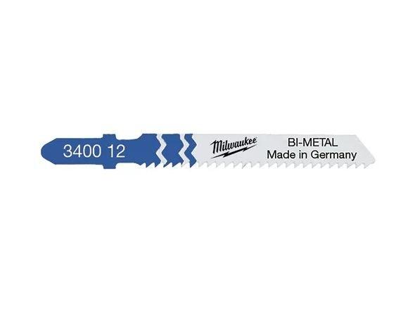 Milwaukee Stichsägeblätter Metall Bi-Metall 55x2mm T118BF (5er Pack)
