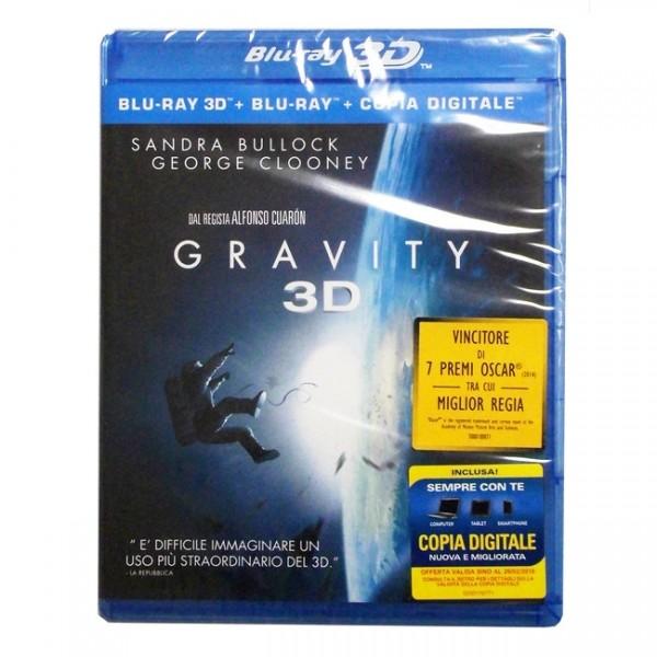 Gravity (Blu-ray 3D+2D) Deutscher Ton